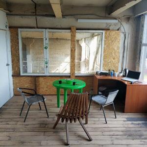мастерская для творчества, комната отдыха в мастерской, где отдахнуть в мастерской