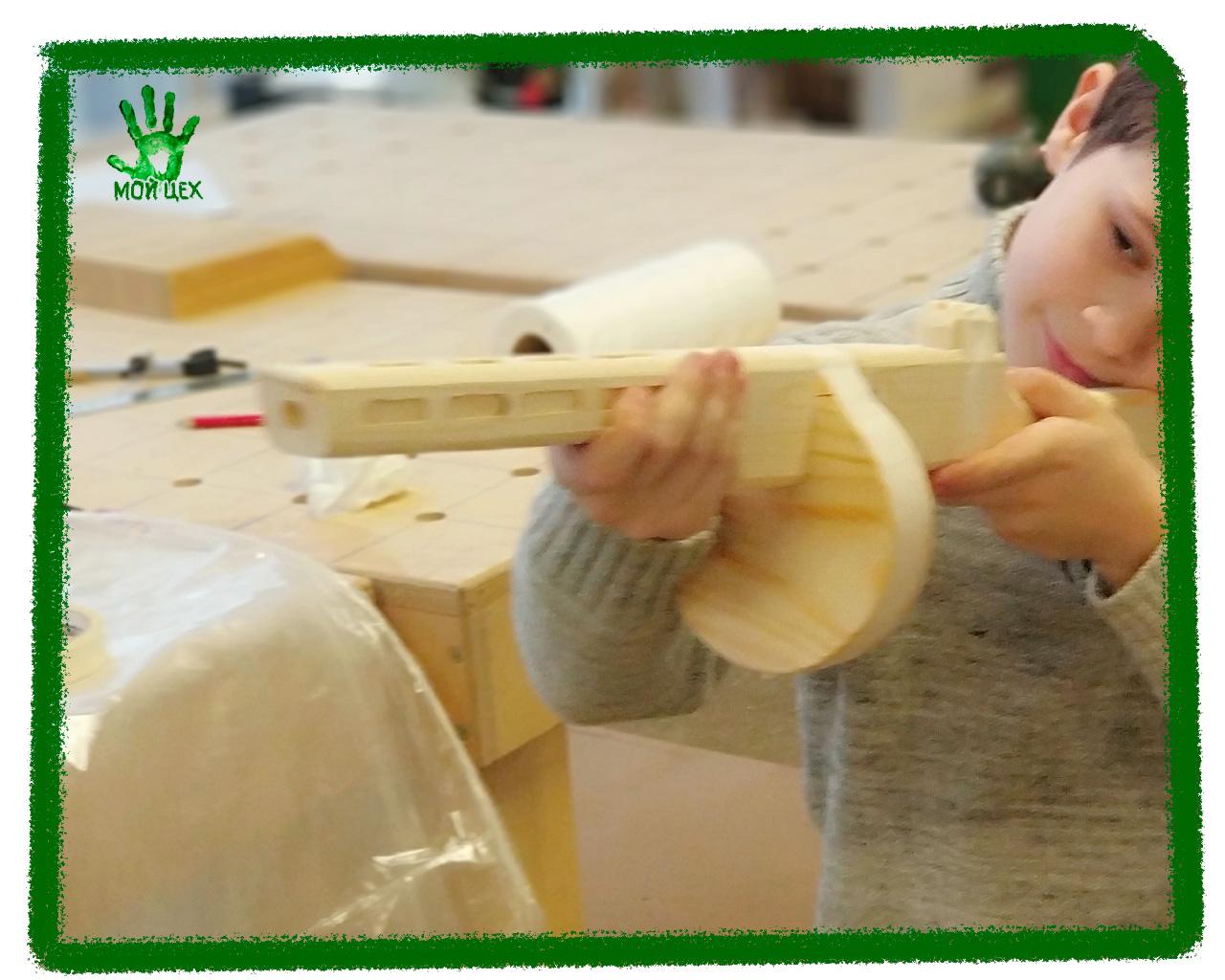 сделай-сам из дерева детский мастерскласс
