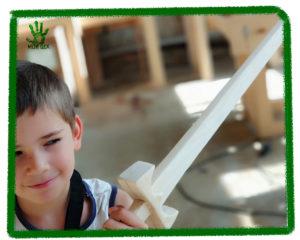 детские мастер-класы, Мастер-класс деревянный меч