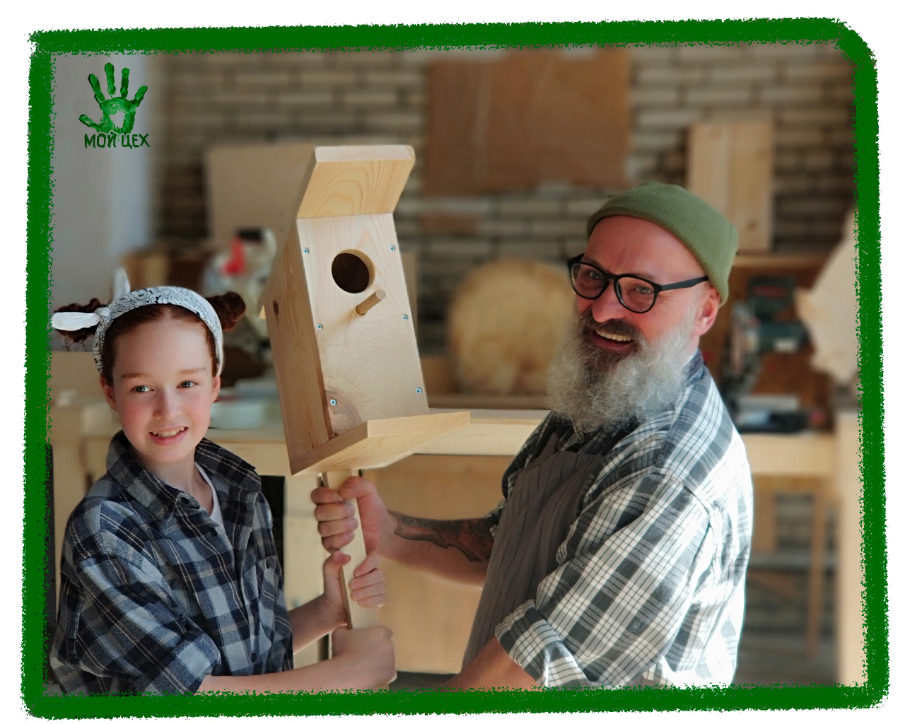 Скворечник своими руками, мастер-класс скворечик, сделать скворечник с детьми