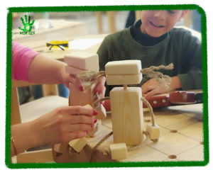 Мастер-классы для детей, дети делают из дерева