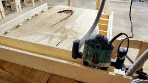 Выравнивание слэбов, мебель лофт, как выравнить слэб, где выровнять слэб