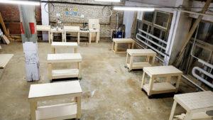 Столярный коворкинг, Аренда мастерской Санкт-Петербург, открытая мастерская, мастерская самообслуживания, аренда места в мастерской